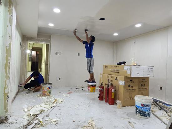 Quy trình sửa nhà uy tín tại – Xây Dựng Sao Việt